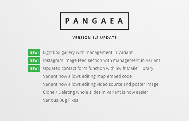 Pangaea | Multi-Purpose Template with Page Builder